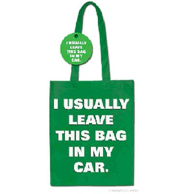 Click to get I Usually Leave This Bag In My Car Shopping Bag