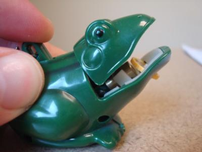 Click to get Frog Laser Keychain