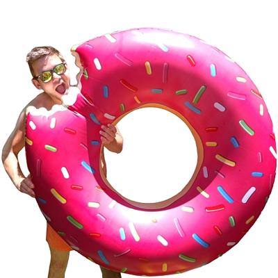 Click to get Giant Inflatable Donut Pool Float