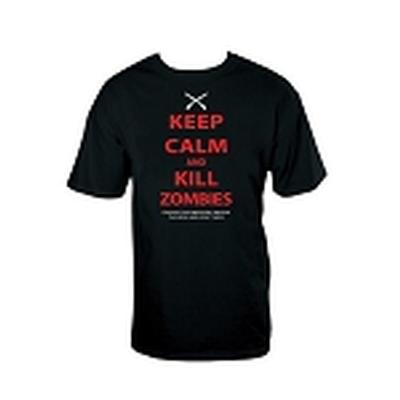Click to get Keep Calm Kill Zombies TShirt