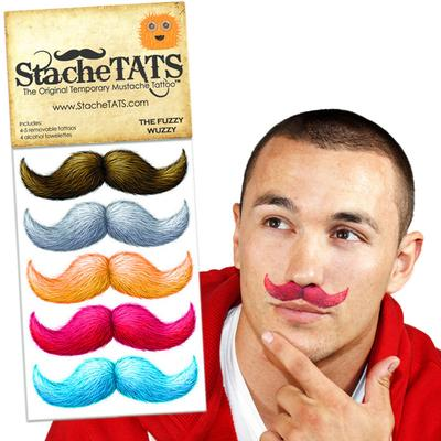 Click to get Stache Tats Fuzzy Wuzzy Temporary Mustache Tattoos