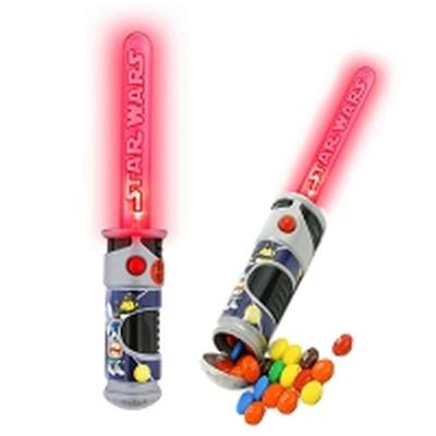 Click to get MMs Lightsaber Candy Red