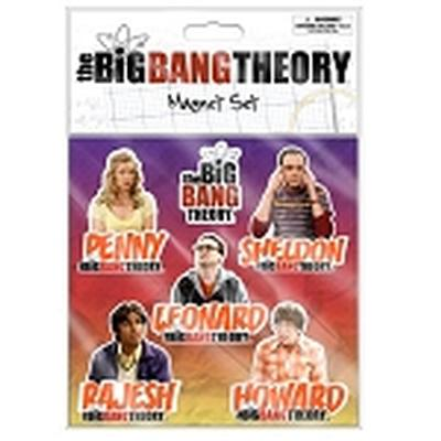Click to get Big Bang Theory Magnet Set