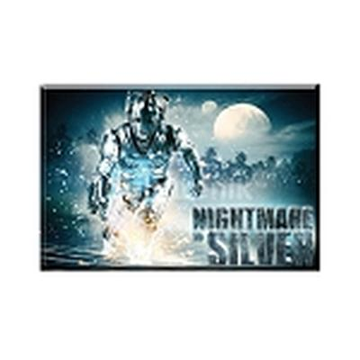 Click to get Doctor Who Magnet Nightmare in Silver