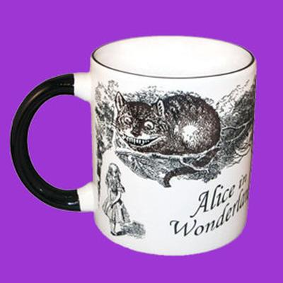 Click to get Disappearing Cheshire Cat Mug