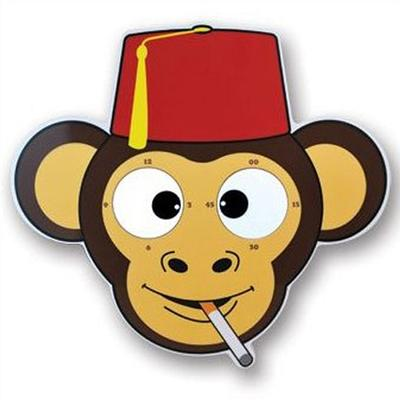 Click to get Cheeky Monkey Rolling Eyes Clock