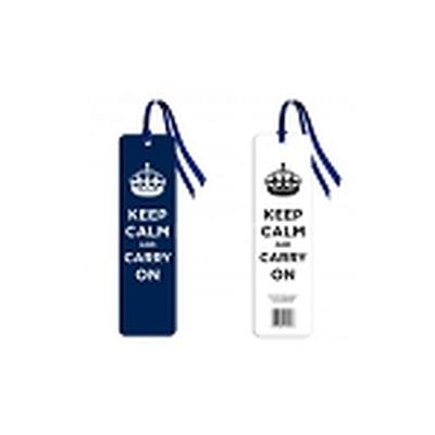 Click to get Keep Calm and Carry On Bookmark