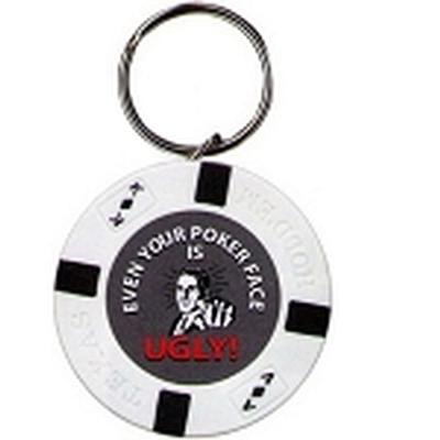 Click to get Even Your Pokerface is Ugly Keychain