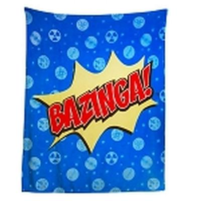Click to get Big Bang Theory Bazinga 50 x 60 Throw Blanket