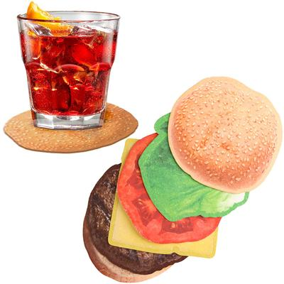 Click to get Burger Drink Coasters
