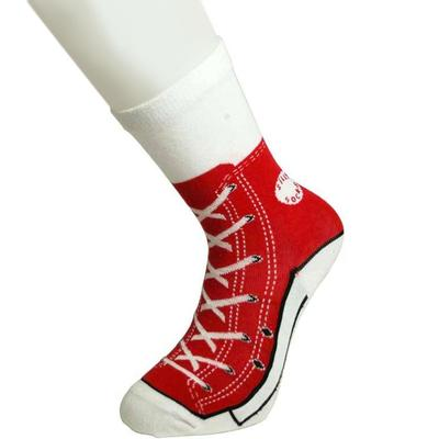 Click to get Sneaker Socks Red