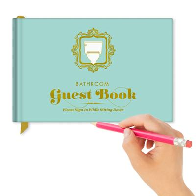 Click to get Bathroom Guest Book