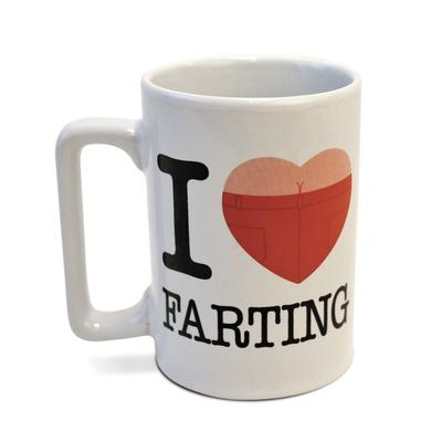 Click to get Talking Mug I Love Farting