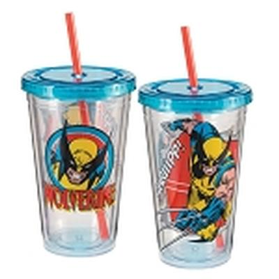 Click to get Marvel Wolverine 18 oz Acrylic Travel Cup