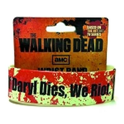 Click to get Walking Dead Glow Splat Wristband